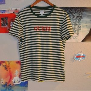 Striped guess T-shirt